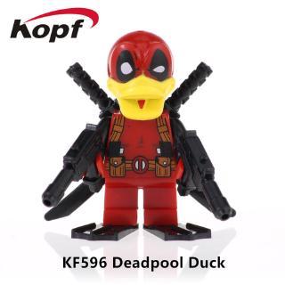 Bộ Đồ Chơi Lắp Ráp Mô Hình Nhân Vật Deadpool Ngộ Nghĩnh Đáng Yêu