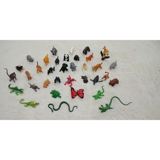mô hình động vật hoang dã và sinh vật biển hãng safari