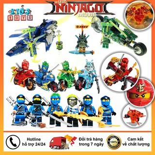 Đồ chơi lego ninjago lốc xoáy, lego ninjago rồng cho bé, Kèm theo sách hướng dẫn lắp ráp, chất liệu nhựa ABS an toàn. thumbnail