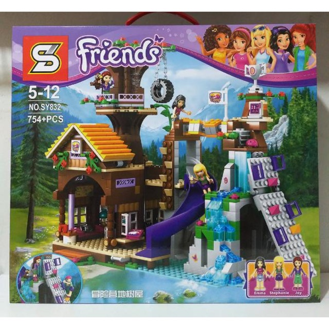 Lego friends SY832- Trại hè trên cây