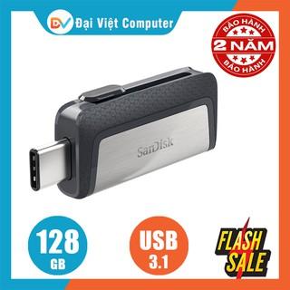 USB OTG Type-C sandisk128GB 64GB 32GB Ultra Dual USB 3.1 SDDDC2 150MB/s
