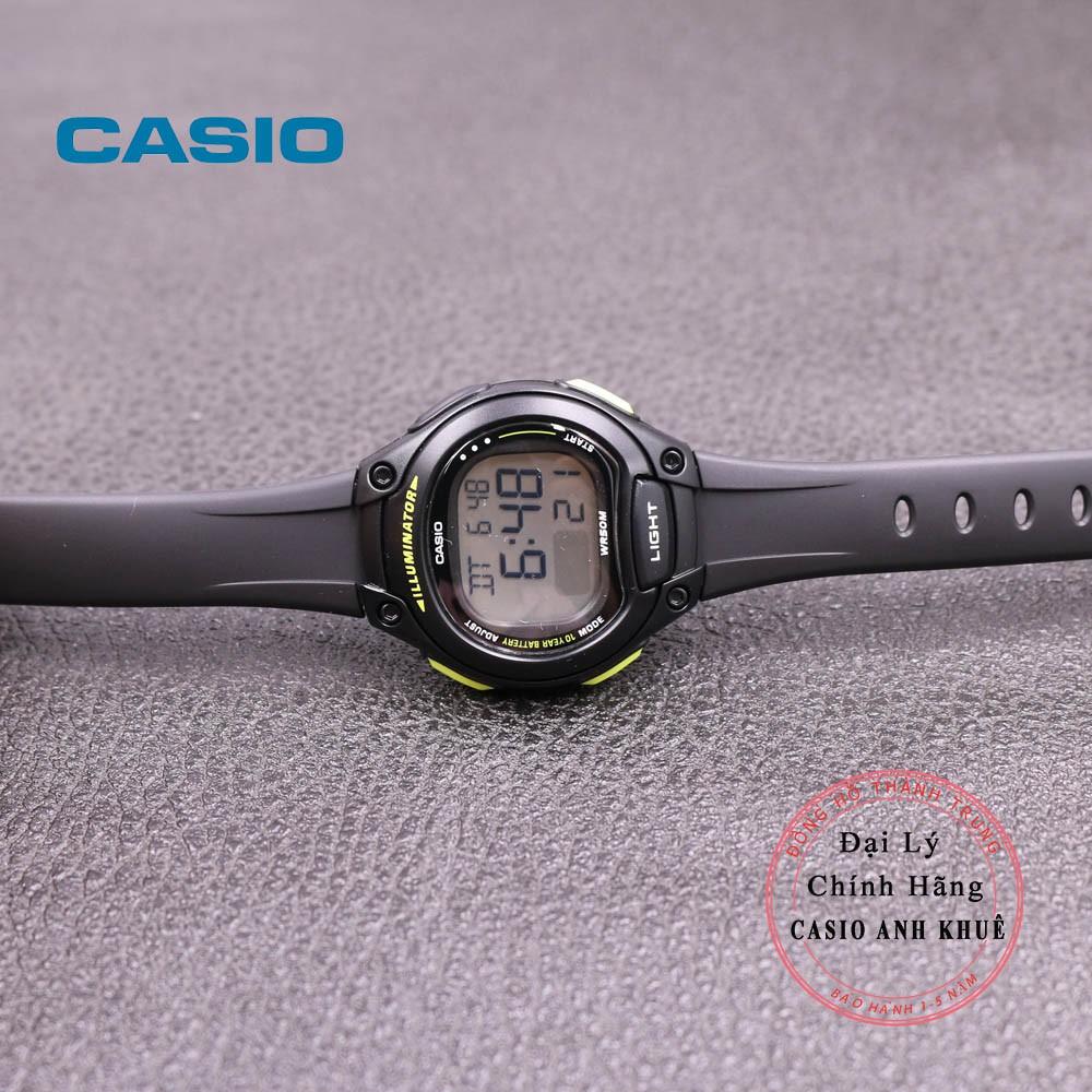 [Mã FARSBR243 giảm 15% đơn 249K] Đồng Hồ Nữ Casio LW-203-1BVDF Dây Nhựa Pin 10 Năm
