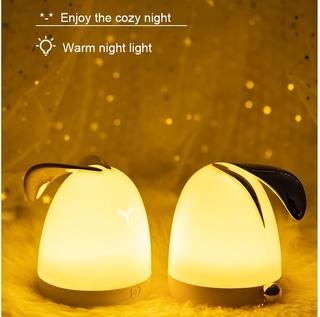 đèn phòng Đèn Ngủ silicon đèn xông tinh dầu xông phòng máy xông tinh dầu nhà ngủ hà cửa đời sống đèn sáng