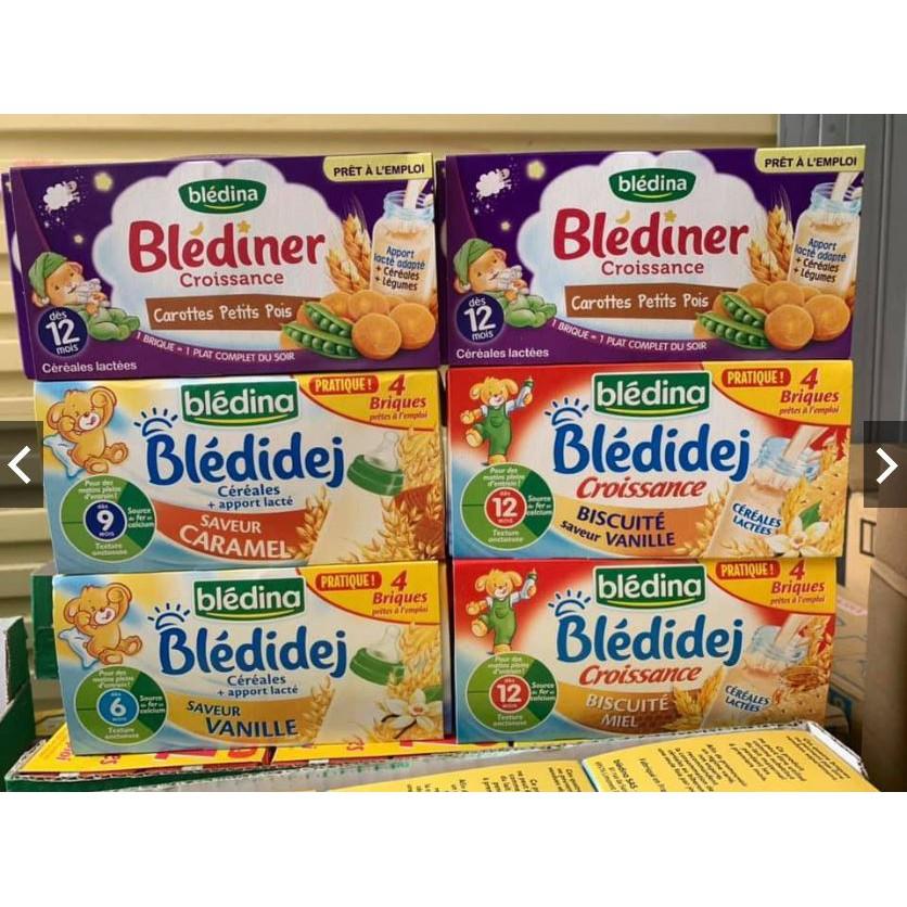 Sữa nước Bledina Pháp đủ vị cho bé date 2020