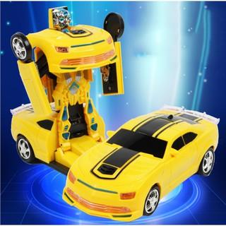 Xe điều khiển từ xa biến hình robot cao cấp cho bé