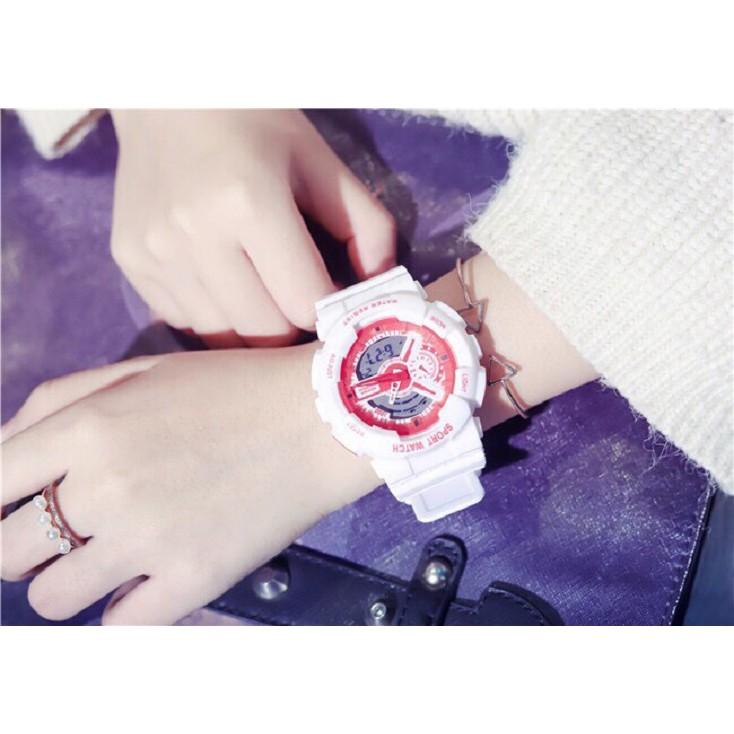 Đồng hồ thời trang nam nữ Sport Watch chạy kim và điện tử cực chất QA44292