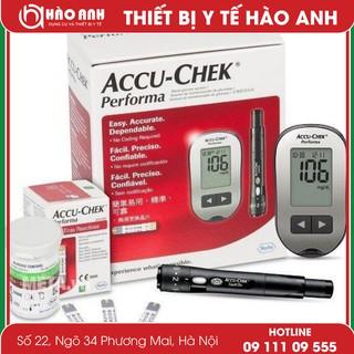 [Flash Sale] Máy đo đường Huyết Accu-Chek + Hộp 10 que thử tiểu đường Accu- thumbnail