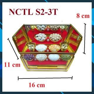 Cây Tài Lộc | Hộp Ngũ Cốc Tài Lộc Phong thủy thờ trên ban Thần Tài cầu ấm no, sung túc, lộc tài [NCTL S2-3T]