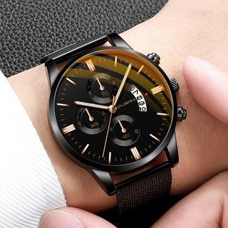 Đồng hồ nam dây lưới CUENA CU845 đẳng cấp thời thượng nam tính thanh lịch thumbnail
