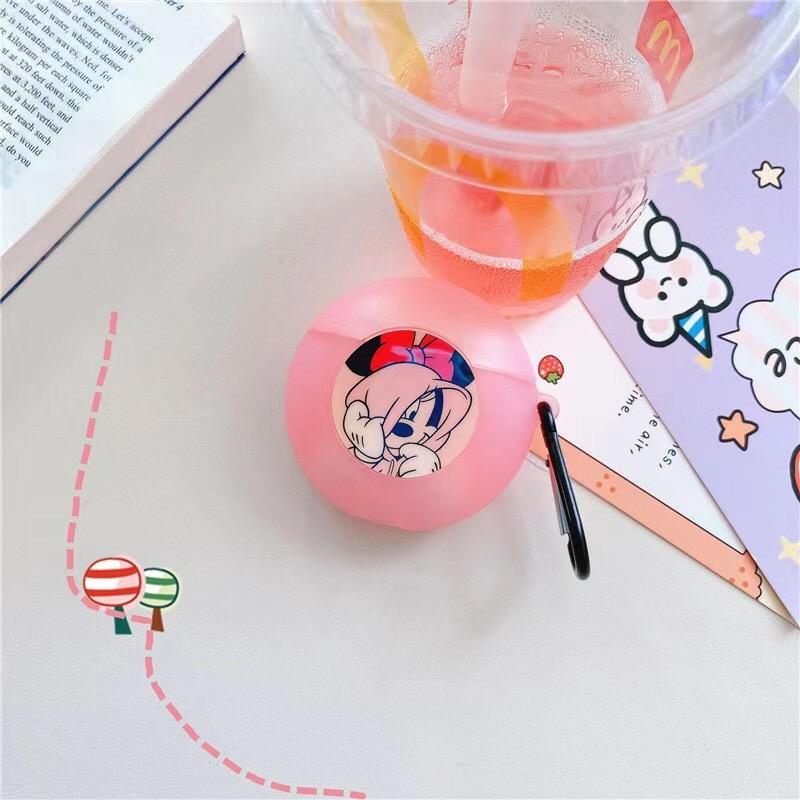 Ốp Bảo Vệ Hộp Đựng Tai Nghe Airpods 1 / 2 Pro 3 Hình Mickey Minnie Xinh Xắn
