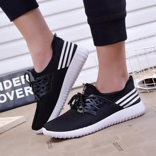 Giày sneaker thời trang nam cao cấp- Verygood-MS8 màu đen