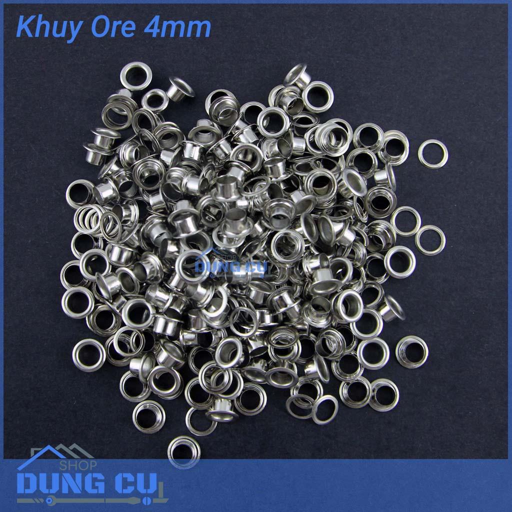 500 khoen bọc lỗ bạc 4mm