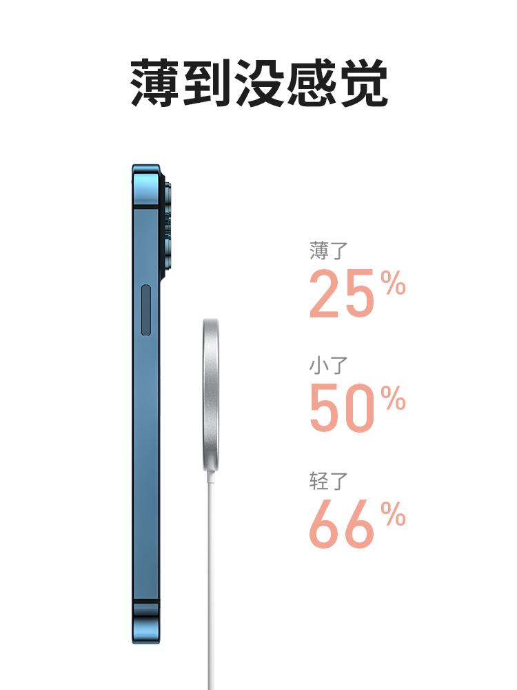 Bộ Sạc Nam Châm Không Dây 15w Cho Iphone 12 Kèm Phụ Kiện