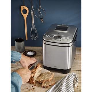 Máy làm bánh mì WMF KULT X với 12 chương trình, 2 trọng lượng bánh mì và 3 độ nâu, Công suất 450W, giữ ấm tự động
