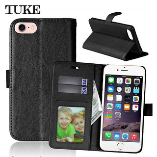 Apple IPhone 7 8 Plus SE 2020 Flip Leather Cover with Photo Frame