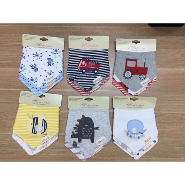 Set 3 yếm Mom