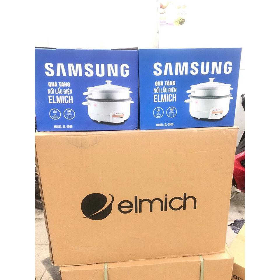 Nồi lẩu- hấp điện đa năng Elmich - Nồi lẩu điện Thương hiệu No Brand