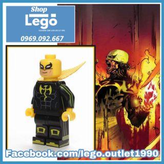 Xếp hình Iron Fist đen Lego Minifigures WM Wm403 thumbnail