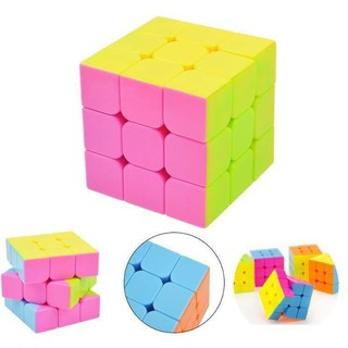 [RẺ VÔ ĐỊCH] Đồ chơi Rubik 3×3 Cao Cấp Đẹp, Trơn, Độ Bền Cao