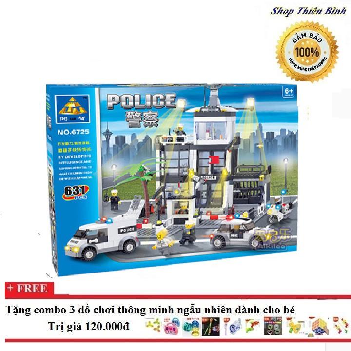 Bộ ghép hình lego Cảnh sát đặc nhiệm - Enlighten 6725 - 3385794 , 786872041 , 322_786872041 , 615000 , Bo-ghep-hinh-lego-Canh-sat-dac-nhiem-Enlighten-6725-322_786872041 , shopee.vn , Bộ ghép hình lego Cảnh sát đặc nhiệm - Enlighten 6725