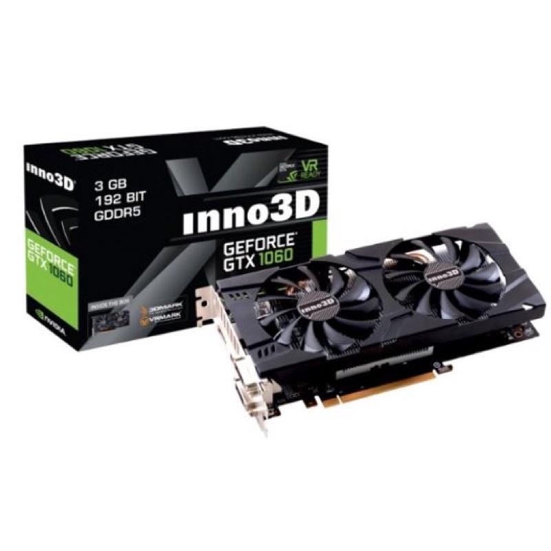 card màn hình GeForce GTX 1060 3G Twin X2 3Gb DDR5 cũ