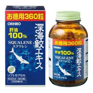 Viên Uống Sụn Vi Cá Mập Orihiro Squalene 360v (NK chính hãng)