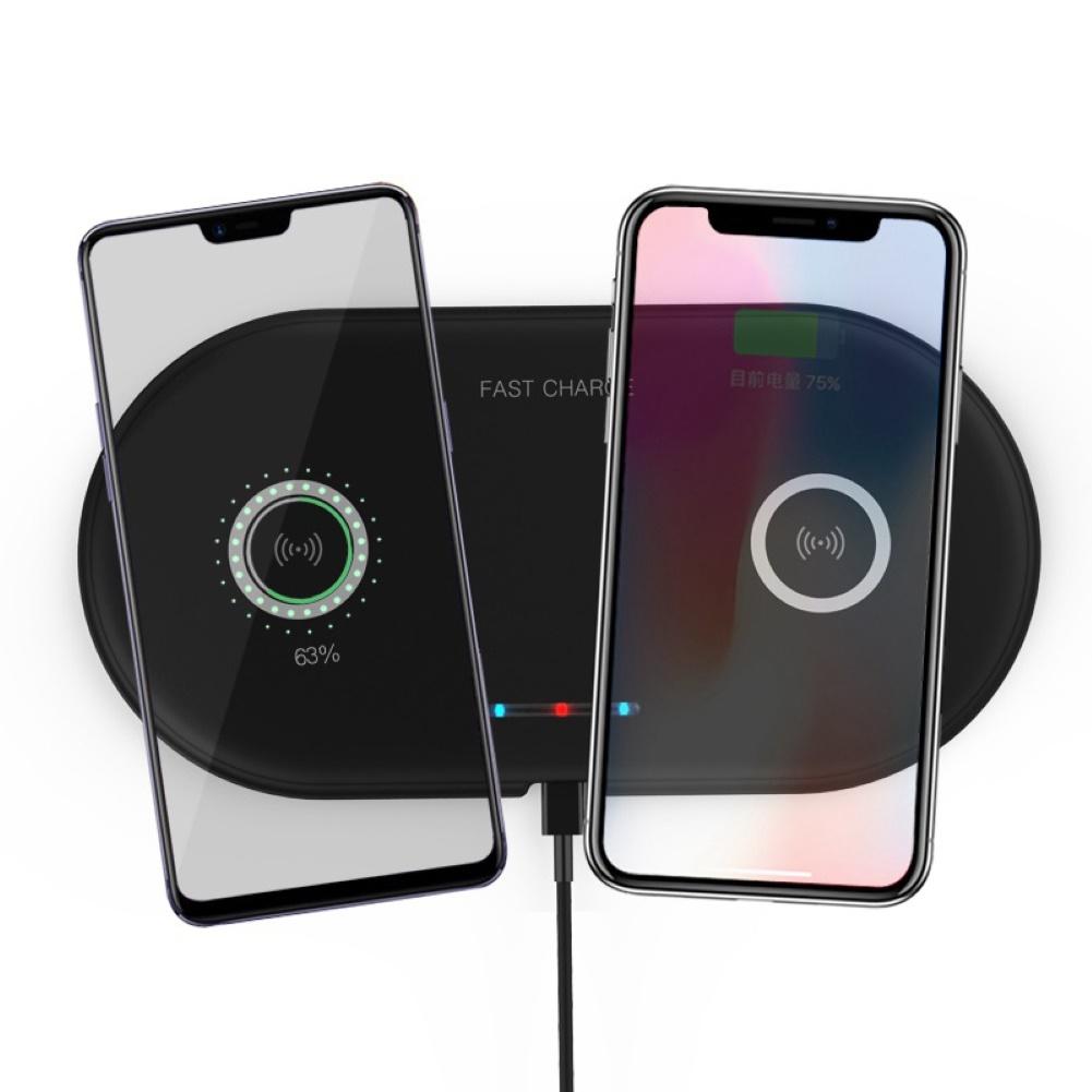 Đế Sạc Không Dây Nhỏ Gọn Tiện Dụng Cho Iphone Android Samsung
