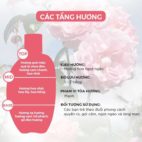 Sữa Tắm Nước Hoa Nữ Laura Anne Allure 400ml chính hãng