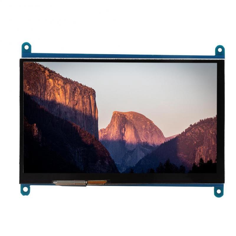 Hàng chính hãng Sỉ số lượng lớn Ngõ hình LCD 7 inch HDMI 1024x600 full HD cảm ứng điện năng cho Raspberry Pi