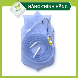 Bộ enema túi dây vòi silicon Viet Healthy, bộ dụng cụ thụt tháo cà phê, thụt tháo đại tràng, thải độc