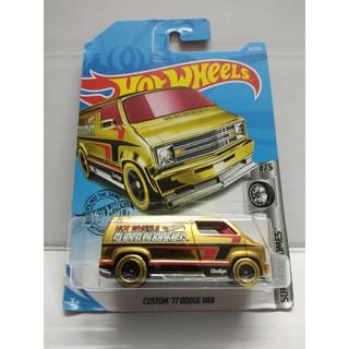 Xe Mô Hình Chính Hãng HotWheels – Custom 77 Dodge Van