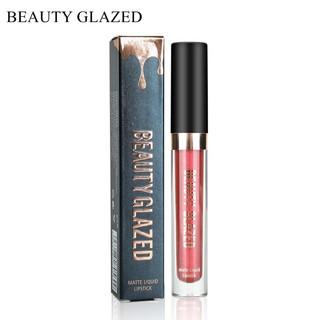 Son môi BEAUTY GLAZED Lau Matte 10 Warna Longlasting không thấm nước dạng son bóng lỏng