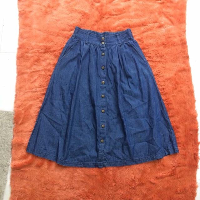 1065640868 - Chân váy bò mềm xoè