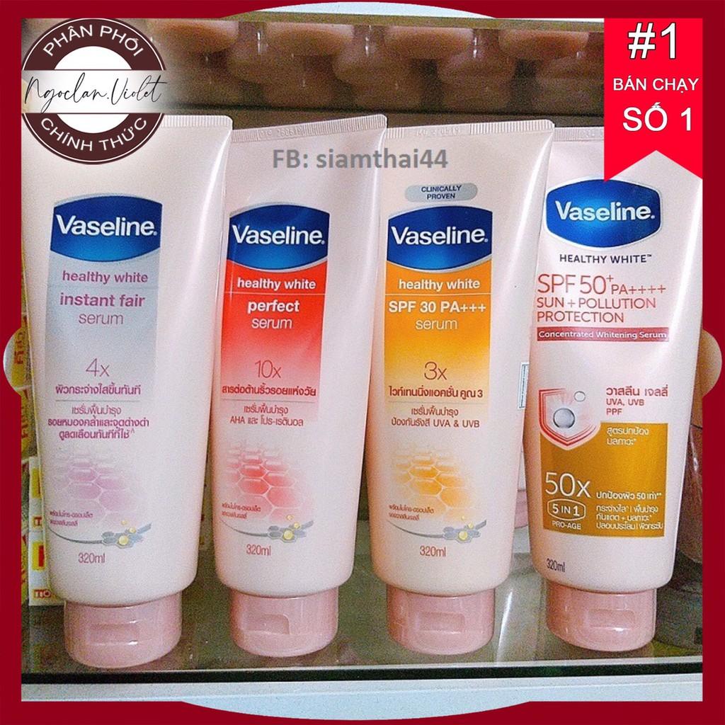 Huyết Thanh Dưỡng Thể Healthy White Instant Fair Serum Vaseline 3X , 4X ,10X , 50X