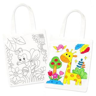 Túi vải vẽ, tô màu – hoạt động nghệ thuật Montessori