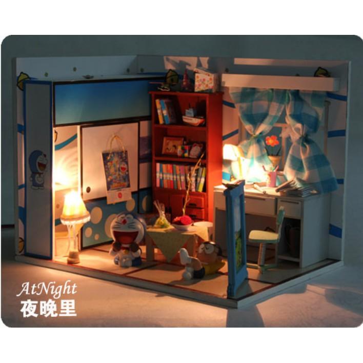 Bộ lắp ghép nhà búp bê - phòng Nobita có cánh cửa thần kỳ