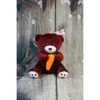 Đồ Chơi Gấu Oenp.ess Bông Moo Hình Teddy Đáng Yêu Ôm Carot DAN2869