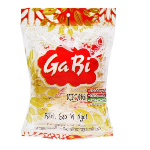 Bánh gạo vị ngọt Ga Bi Hải Hà 150g