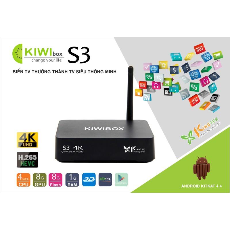 Tivi box Kiwi S3 chính hãng
