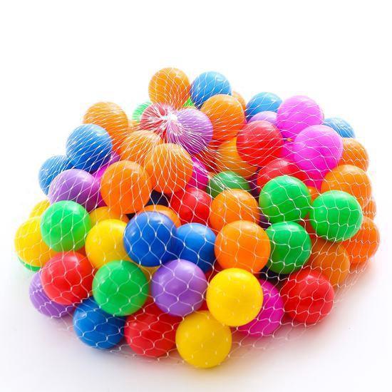 [DEAL SOCK] Combo 100 trái bóng nhựa mềm nhiều màu sắc