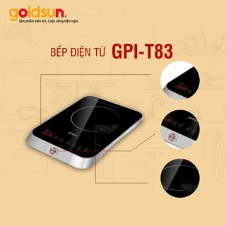 Bếp từ cảm ứng GOLDSUN GPI-T83 2000W Mặt kính cường lực cao cấp bảo hành 2 năm toàn quốc