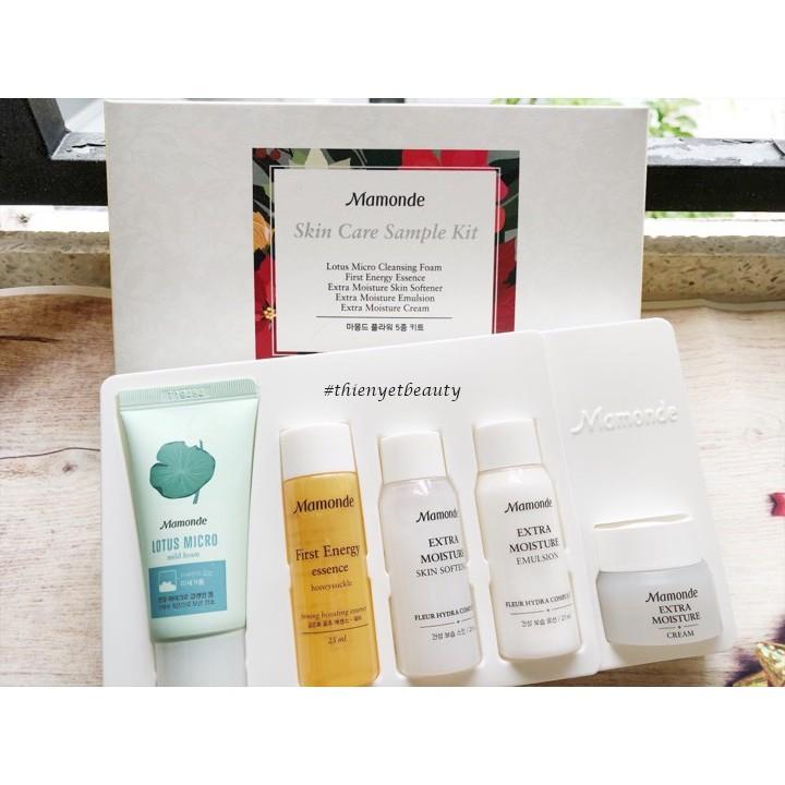 ? Bộ sản phẩm mini chăm sóc da Mamonde Skin Care Sample Kit (5 items) ? - 3345406 , 892920115 , 322_892920115 , 200000 , -Bo-san-pham-mini-cham-soc-da-Mamonde-Skin-Care-Sample-Kit-5-items--322_892920115 , shopee.vn , ? Bộ sản phẩm mini chăm sóc da Mamonde Skin Care Sample Kit (5 items) ?