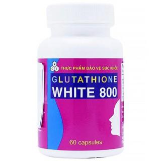 VIÊN UỐNG TRẮNG DA GLUTATHIONE WHITE HỘP 60 VIÊN thumbnail