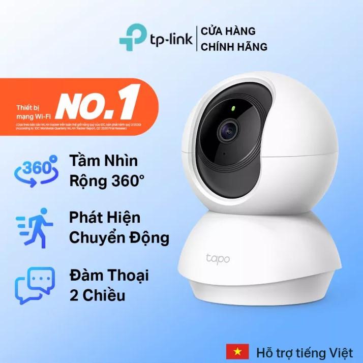 Camera Wi-Fi An Ninh Gia Đình Quay Quét TPlink Tapo C200 - Bảo hành chính hãng 24 tháng