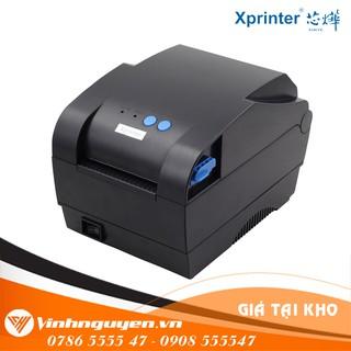 [Mã 77ELSALE hoàn 7% đơn 300K] Máy in mã vạch 2 tem Xprinter XP 330B Giá Siêu Rẻ