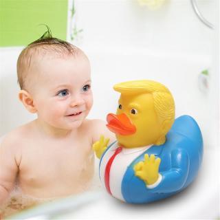 Baby Bath Toys Trump Fun Rubber Duck Children's Bath Floating Yellow Duck