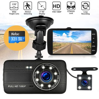 Camera Hành trình ô tô trước sau Full HD 1080P 2570 - Tích hợp 8 LED+ Thẻ nhớ 32GB