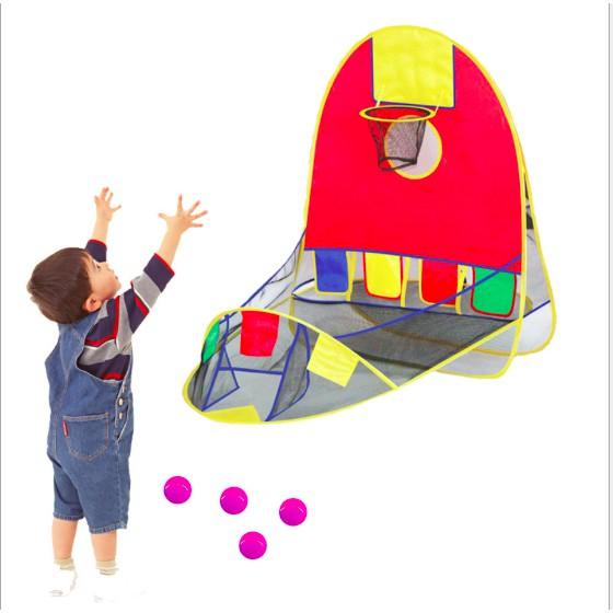 TonyShop - Đồ chơi bóng rổ cho bé tại nhà, hỗ trợ khả năng phản xạ và chiều cao cho bé