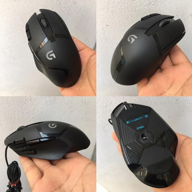 Chuột Gaming Logitech G402 Hyperion furry 2nd (tặng feet mới)