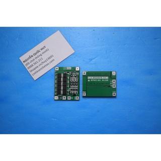 Mạch sạc xả và bảo vệ pack pin Li-ion 3S 12.6V 40A dùng chế tạo pin cho máy khoan, bắn vít, máy cưa
